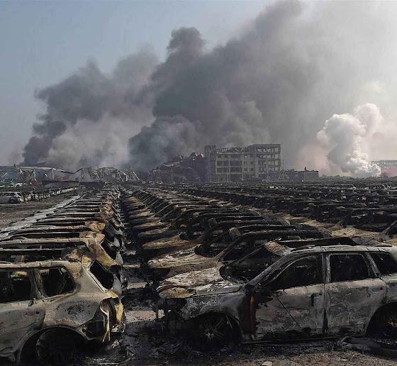 Não se entende como tantos materiais perigosos podiam ser armazenados perto da residência de milhares de pessoas