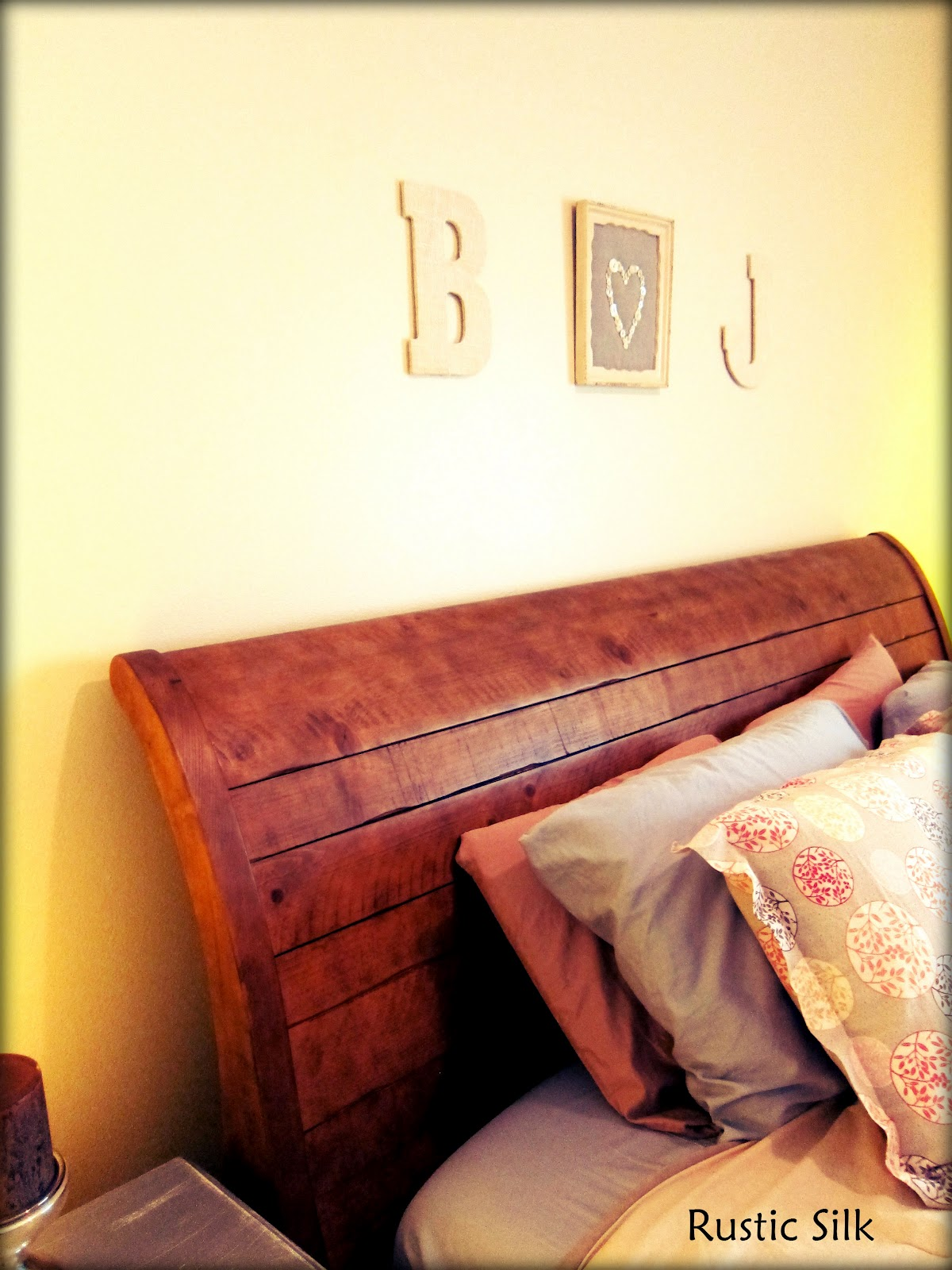 Rustic Silk: Burlap Letters How To