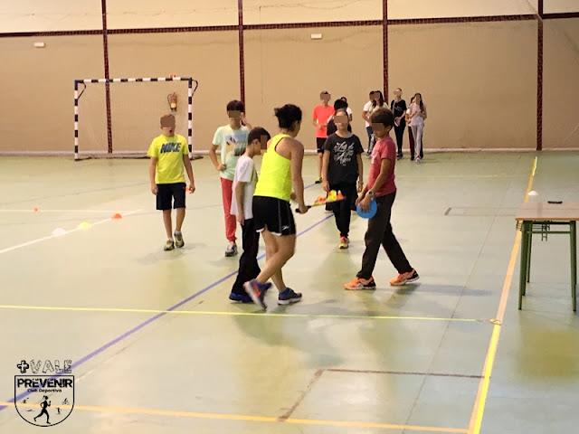 speed badminton niños ies bañaderos