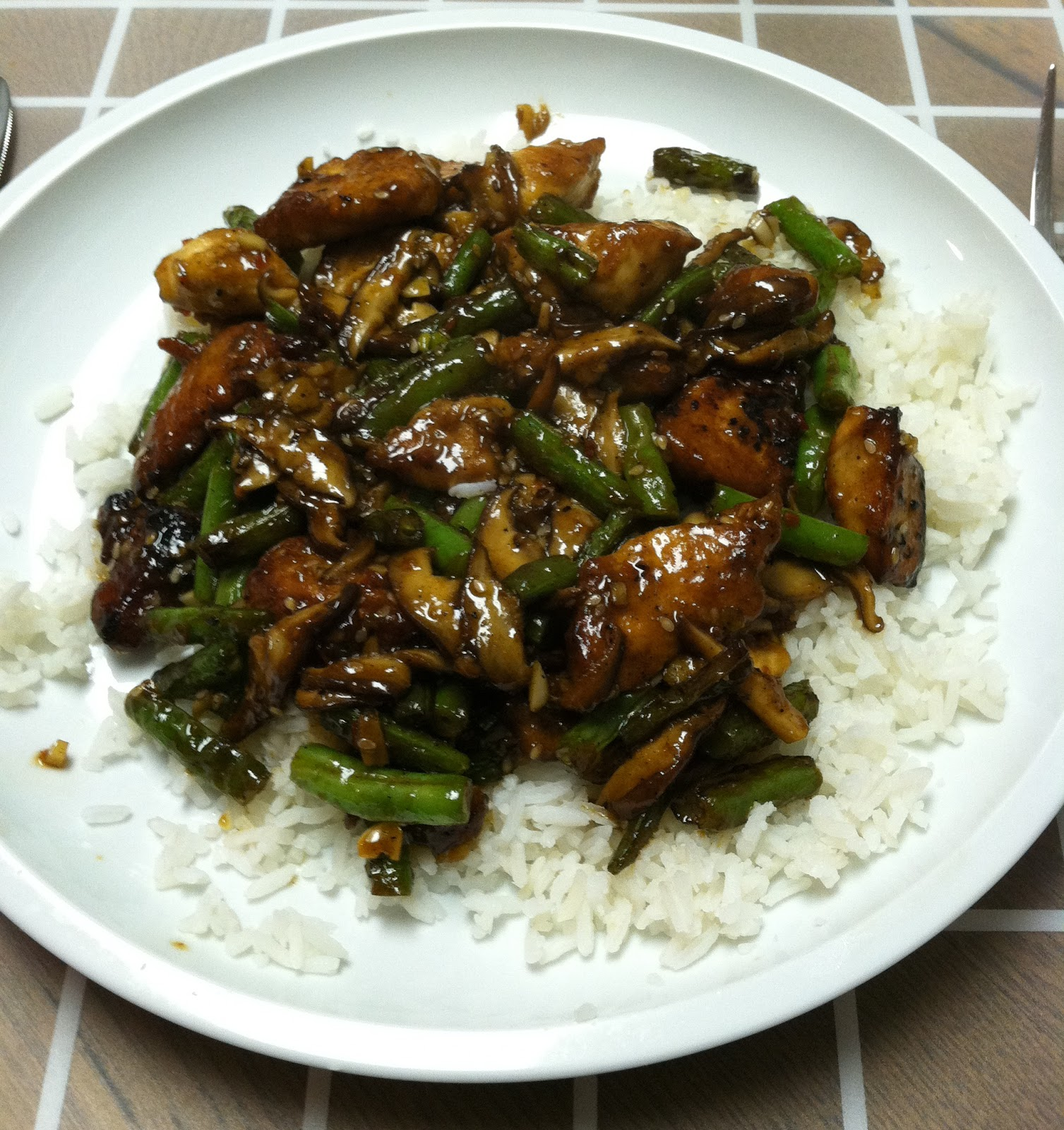 mushrooms stir fried szechuan green beans shiitake mushrooms green ...