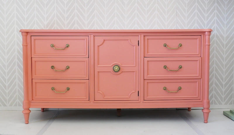 Sherwin Williams Charisma, painted furniture, dresser