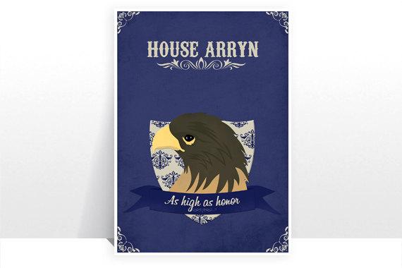 Posters retro de Game of Thrones