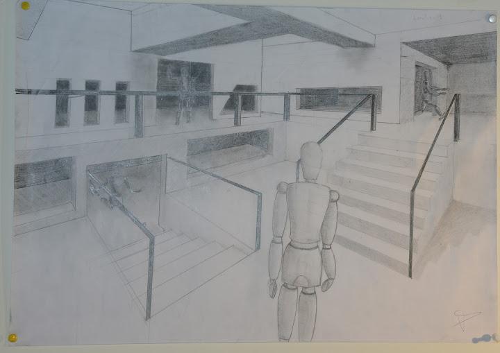 dibujos espacios:
