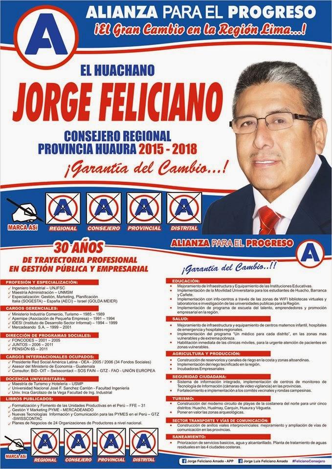 FELICIANO AL CONSEJO REGIONAL