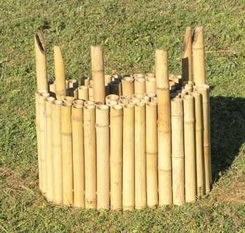 Bamboo Garden Edging