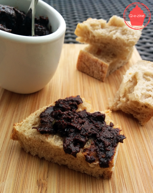 tapenade olives noires anchois apéritif