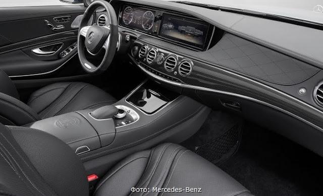 внутри салон 2013 Mercedes-Benz S63 AMG 4Matic