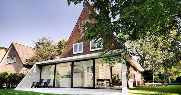 Dise o de interiores arquitectura casa de ladrillo for Arquitectura holandesa