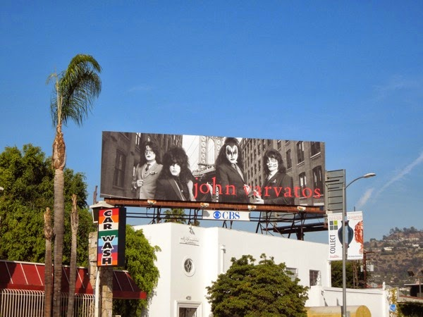 John Varvatos Kiss billboard