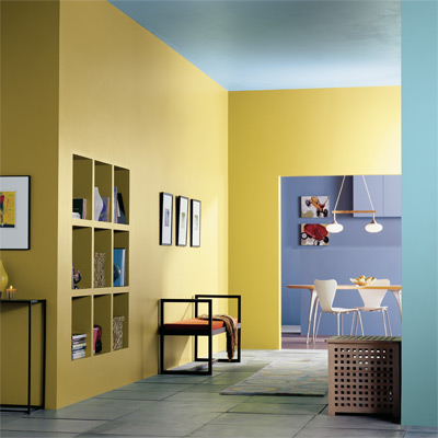 The best paint colors for a small spaces dream house for Best colors for small spaces