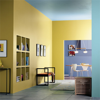 Home interior designs the best paint colors for a small spaces - Small space living blog paint ...