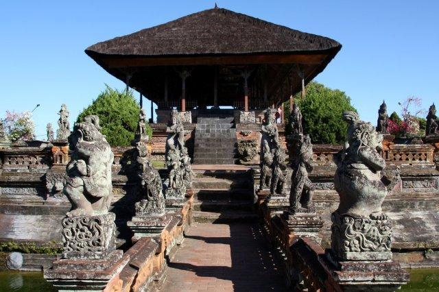 Palacio de Justicia Taman Gili en Klungkung, Bali