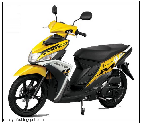 Mio 125 Blue Core | Motorcycle Review and Galleries