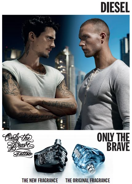 perfume Diesel Only The Brave Tattoo nueva fragancia para hombre