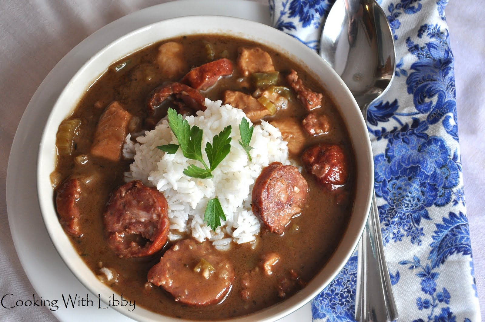 Chicken and Sausage Gumbo | Cooking With Libby