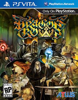 dragons crown vita box art Dragon's Crown (PS3/PSV)   Box Art & Art Book