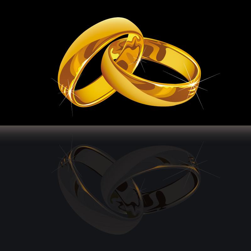 imagenes de anillos de boda entrelazados - Anillos de boda dibujo Imagui