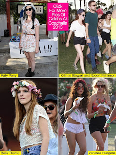 Coachella 2013 Celebrity Fashion