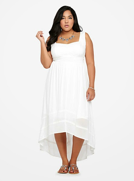 Torrid White Summer Dress