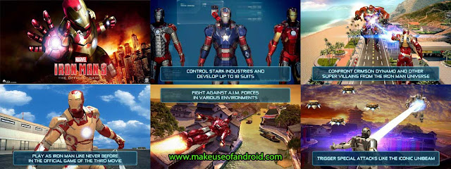 Iron Man 3 - The Official Game 1.4.0 Mod APK