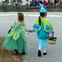 Fairy and Peacock Trick or Treating_Halloween Costume_New England Fall Events