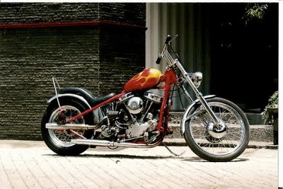 air brush harley davidson modification