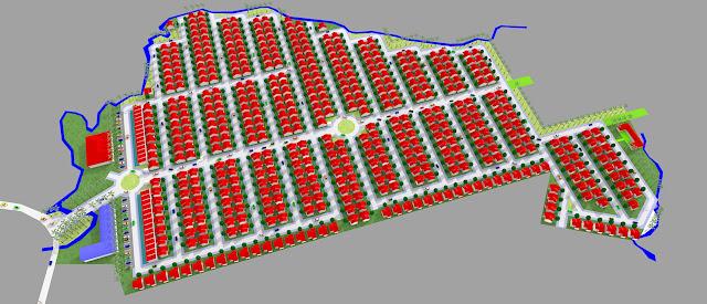 Gambar blok plan