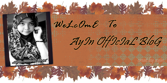 weLcom To ayin OfficiaLbLoG