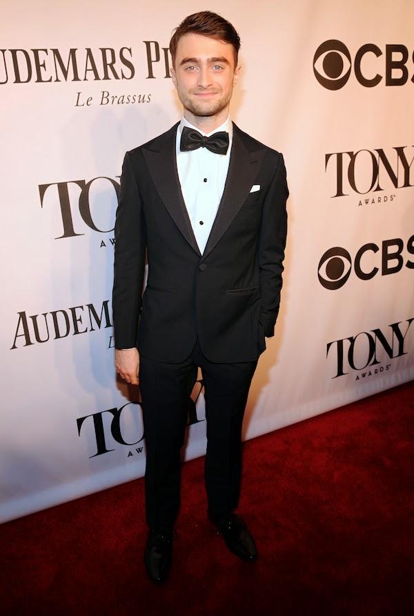 Daniel Radcliffe Ermenegildo Zegna tuxedo - 2014 Tony Awards