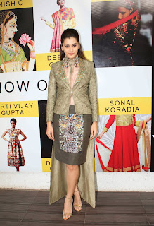 Actress Taapsee Pannu  Picture Gallery at DVAR Fashion Preview  9
