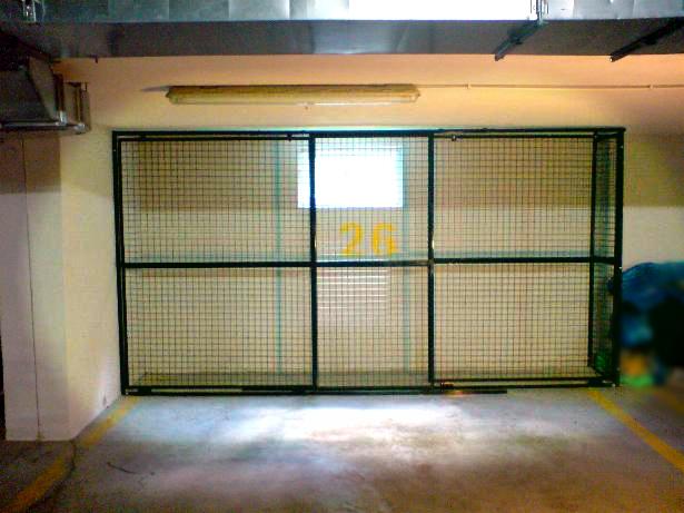Box Boks garażowy zabudowa stanowiska w garażu podziemnym Warszawa