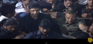 Mahesh Babu Entry  Srimanthudu Audio Launch  Shruti Haasan  Devi Sri Prasad