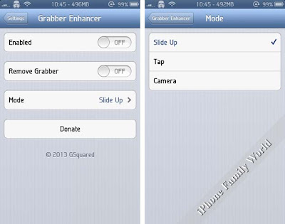 Grabber Enhancer 1.0-99 - iPhone family world