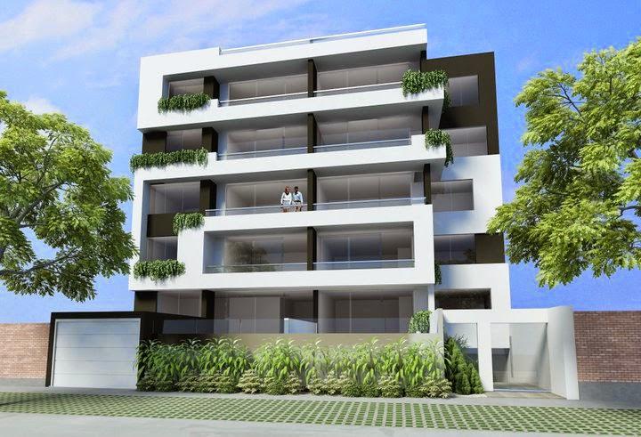Fachadas de edificios de departamentos fachadas de casas for Fachadas de apartamentos modernas