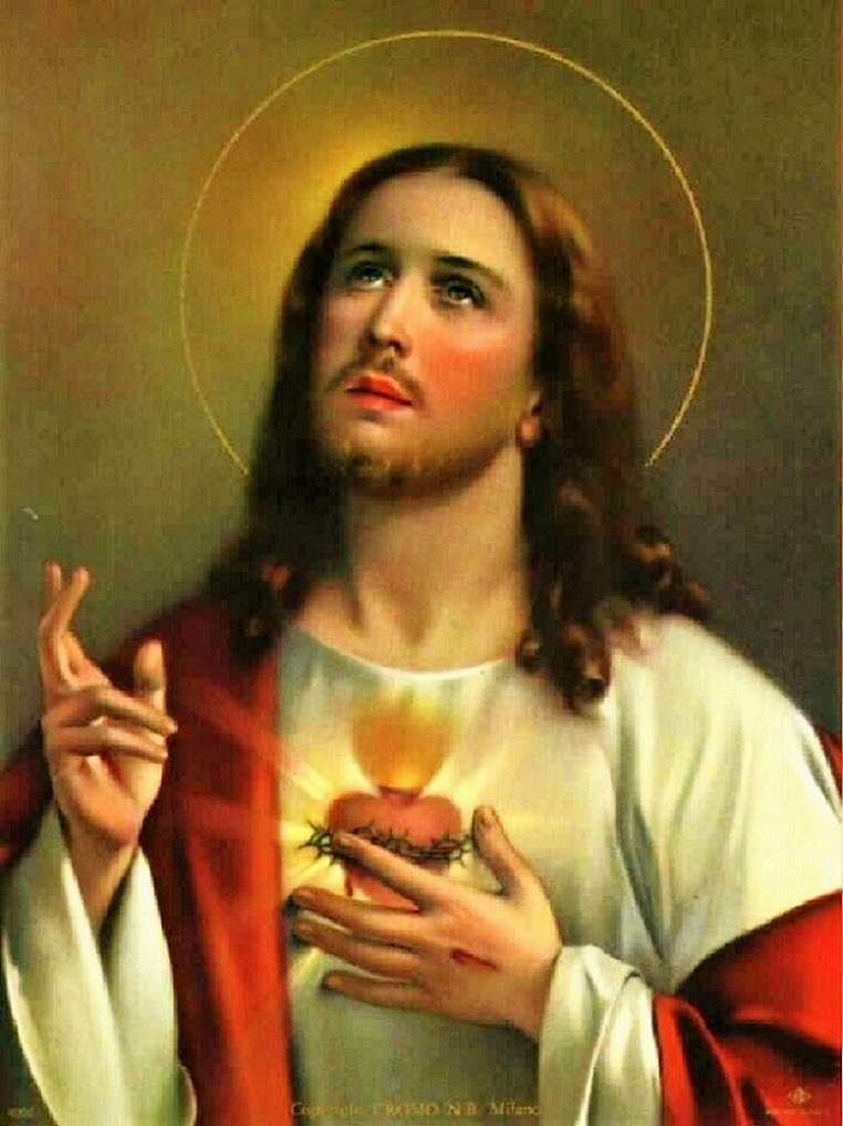 "~~~~ ""O Sacred Heart of Jesus, burning with love of us, inflame our hearts with love of Thee."" ~~~~"
