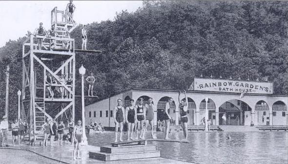 White Oak Mckeesport 39 S Former Rainbow Gardens Amusement Park In Retrospective Coaster Talk No