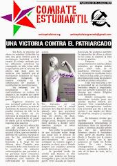 HOJA DEL COMBATE ESTUDIANTIL DE IZQUIERDA ANTICAPITALISTA