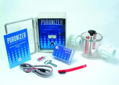 Swimming pool chemicals and equipment swimming pool ionizers for Copper silver ionization system swimming pool
