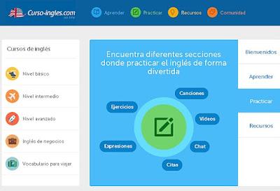 http://www.curso-ingles.com/