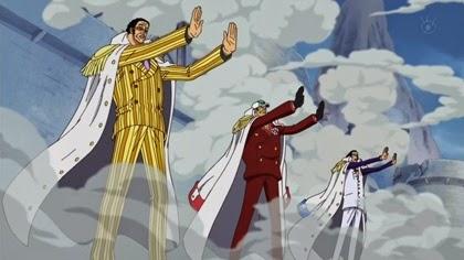 อาโอคิยิผสานฮาคิป้องกันการโจมตีของหนวดขาว