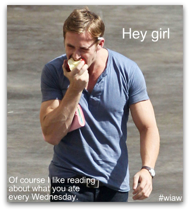 Ryan Gosling Hey Girl apple WIAW