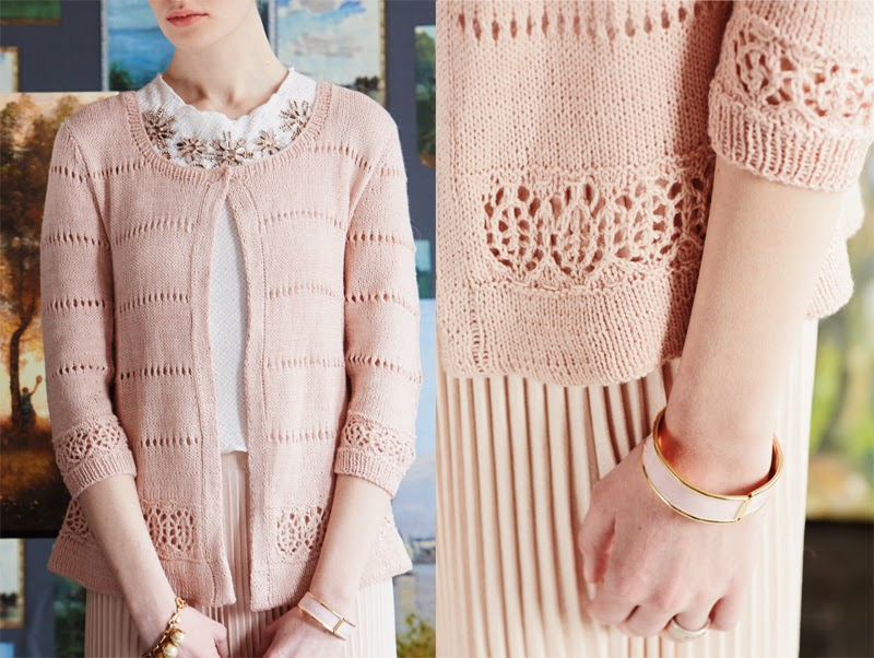 Vogue Knitting Cardigan Pattern : The Knitting Needle and the Damage Done: Vogue Knitting Early Fall 2014: A Re...