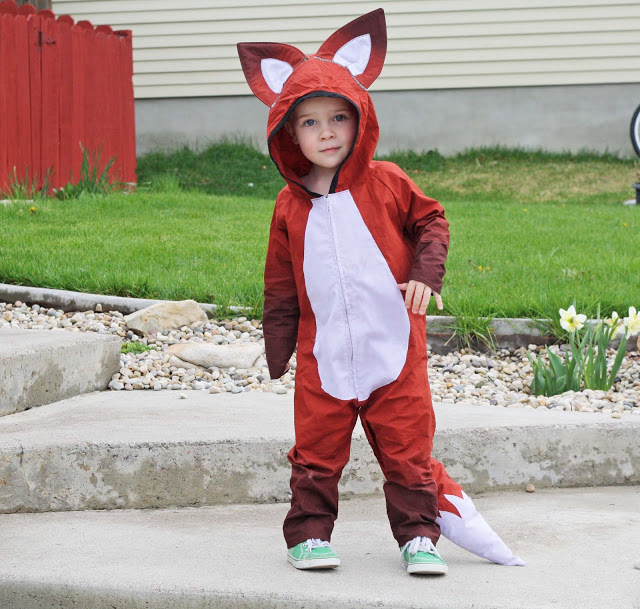 Tricky Fox Costume from Running with Scissors  sc 1 st  Lines Across & 30 Cutest Handmade Costumes for Kids - Lines Across