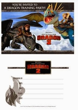 5 Year Old How to Train Your Dragon 2 Birthday Party