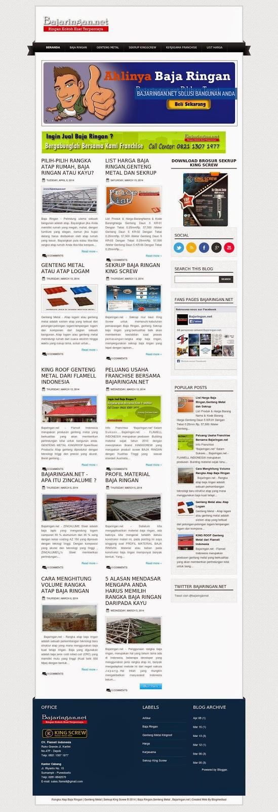 Sample Blog 'Perusahaan 2'