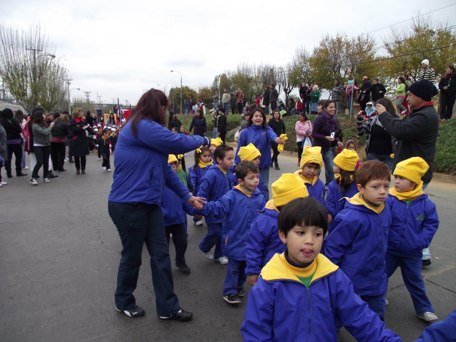 Jard n infantil mi peque o mundo vi a del mar desfile for Jardin infantil serrano 78