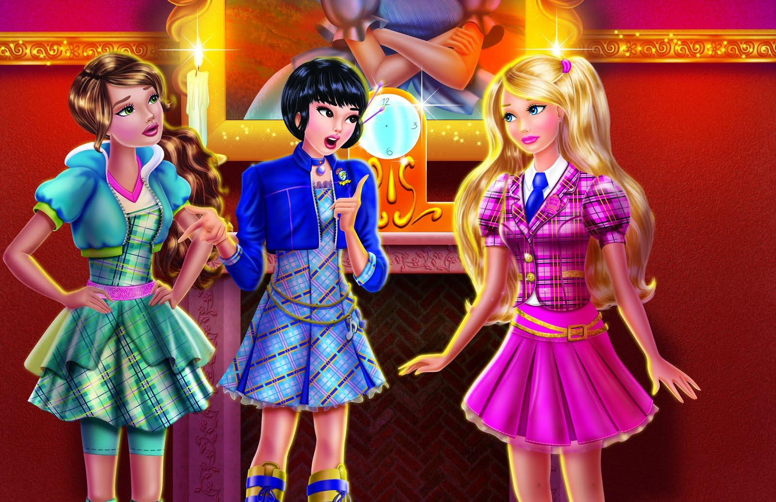 Barbie Escola  de Princessas