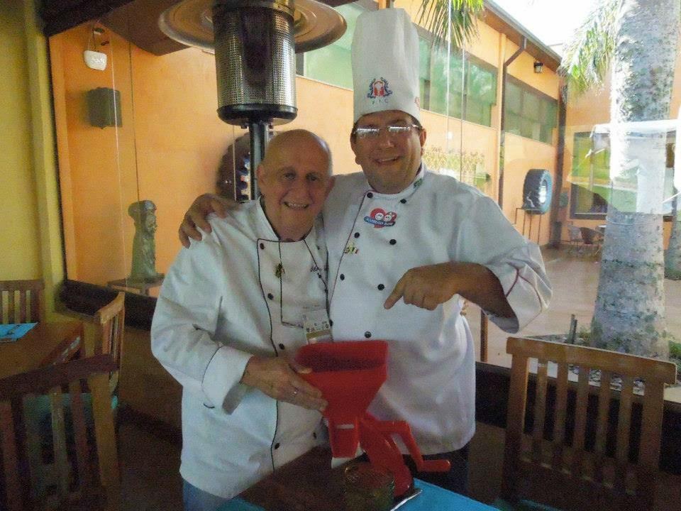 Silvio Lancellotti e Chef Marcio Lopes