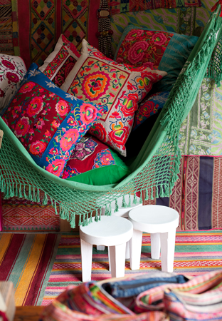 A n z u folk pattern - Decoracion hippie ...