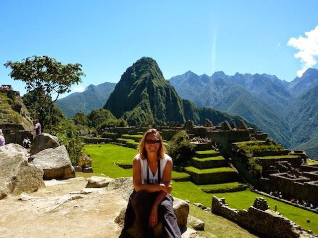 Holiday Nomad in Machu Picchu Peru